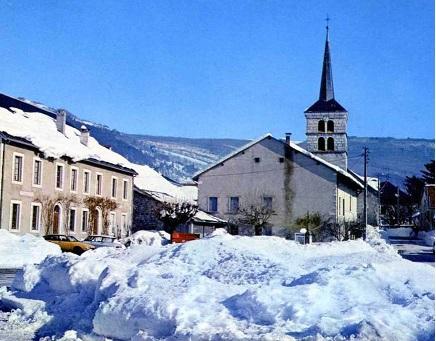 place d'hotonnes neige